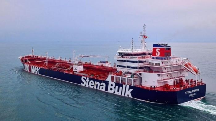 ناقلة النفط البريطانية تصل دبي بعد إفراج الحرس الثوري الإيراني عنها