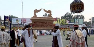 """إثيوبيا تحي عيد الصليب بشعلة """"داميرا"""""""