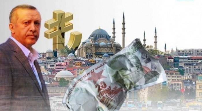 الأزمات تهوي بالاقتصاد التركي ومؤشر الثقة يتراجع لـ 1.3%