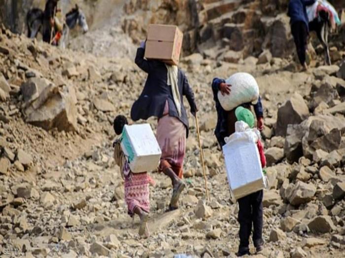 """""""سارقو غذاء البشر"""".. اتهامٌ جديد يلاحق الحوثيين بسبب """"الأزمة الفادحة"""""""