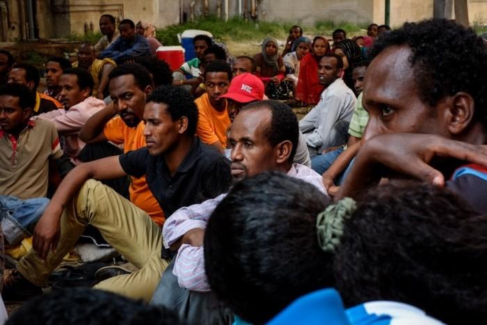 """إيطاليا: ثمانين مهاجرا يصلون إلى جزيرة """"لامبيدوزا"""""""
