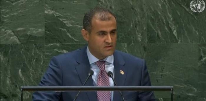 الحضرمي يجسد خيانة الشرعية للتحالف العربي أمام الأمم المتحدة