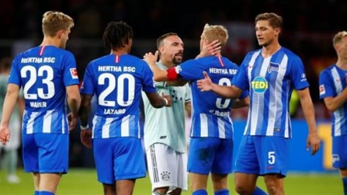 هيرتا برلين يفوز على كولن برباعية نظيفة في الدوري الألماني