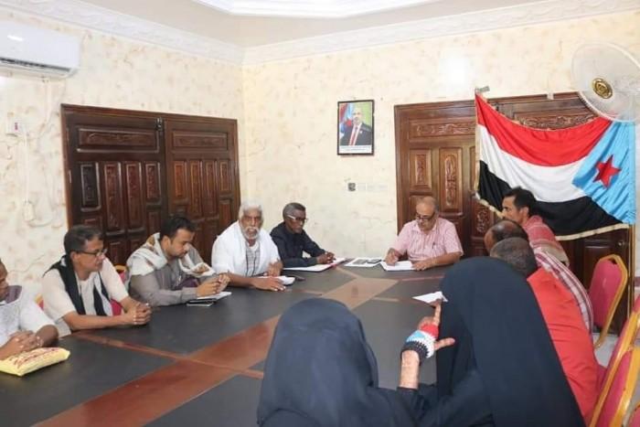 """عقد شراكة بين انتقالي حضرموت ومؤسسة """"صح""""  لخدمة المحافظة"""