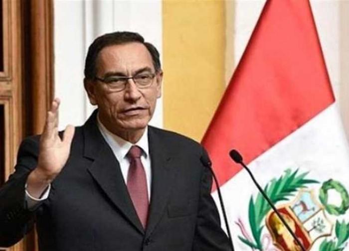 داعيًا إلى انتخابات تشريعية.. رئيس بيرو يعلن حل البرلمان