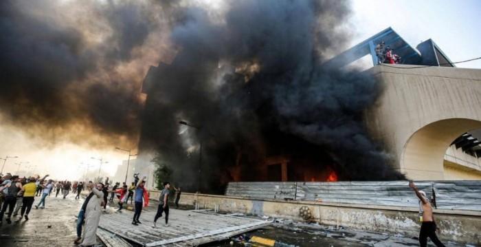 سماع دوي إطلاق نيران كثيف في محيط ساحة التحرير ببغداد