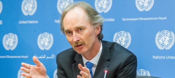 بيدرسون: جلسة للجنة الدستورية السورية في جنيف خلال الشهر الجاري