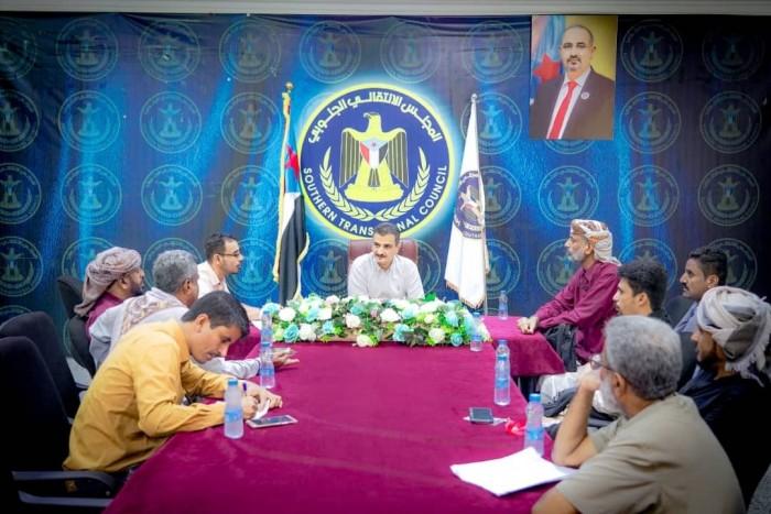 تفاصيل اجتماع لملس مع قيادات انتقالي شبوة (صور)
