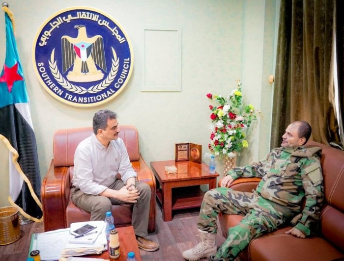 لملس يلتقي مدير أمن عدن  لمناقشة الجوانب الأمنية في العاصمة