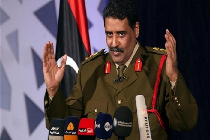 المسماري يطالب المجتمع الدولي برفع الحظر عن بيلع السلاح لليبيا