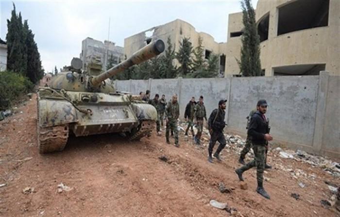 الجيش السوري يحبط هجمات داعشية في بادية حمص الشرقية