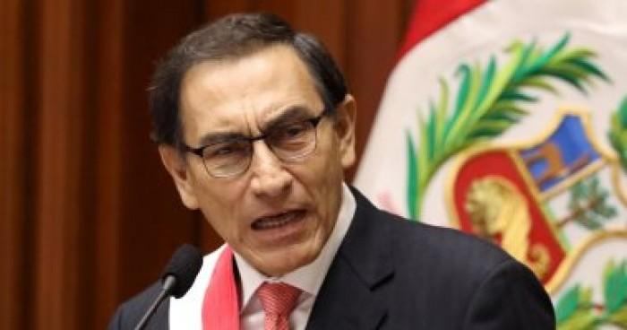 رئيس بيرو يشكل حكومة جديدة تضم ١٩ وزيرا