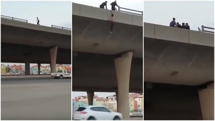 هكذا حاول شاب سعودي الانتحار