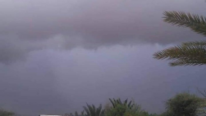 أمطار على سقطرى وسحب خفيفة بحضرموت