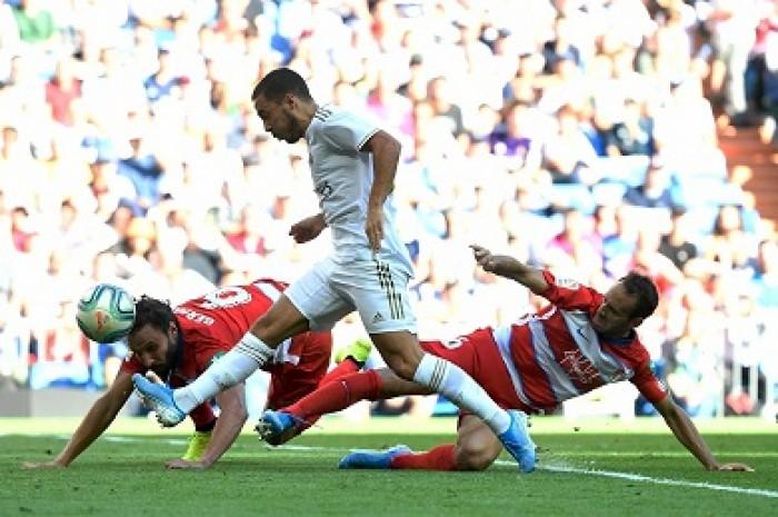 هازارد يسجل أولى أهدافه الرسمية مع ريال مدريد