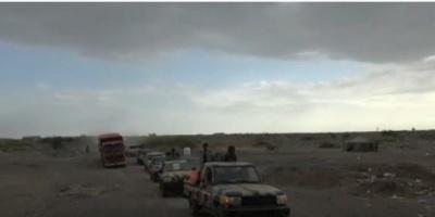 تفاصيل دفع قوات العمالقة بتعزيزات عسكرية صوب عدن (فيديو)