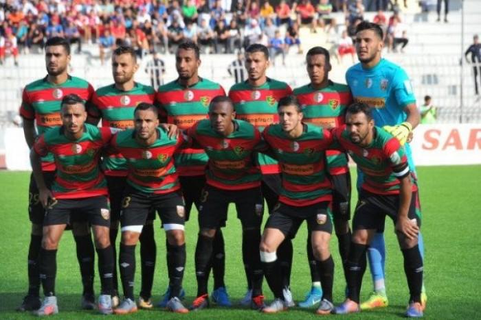 مولودية الجزائر ينفرد بصدارة الدوري الجزائري
