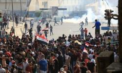 مقتل 5 متظاهرين عراقيين في تجدد الاشتباكات ببغداد