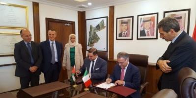 إيطاليا و الأردن يوقعان اتفاقية لدعم موازنة الأخيرة بـ85 مليون يورو