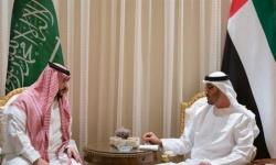 تفاصيل لقاء الأمير خالد بن سلمان والشيخ محمد بن زايد في أبو ظبي