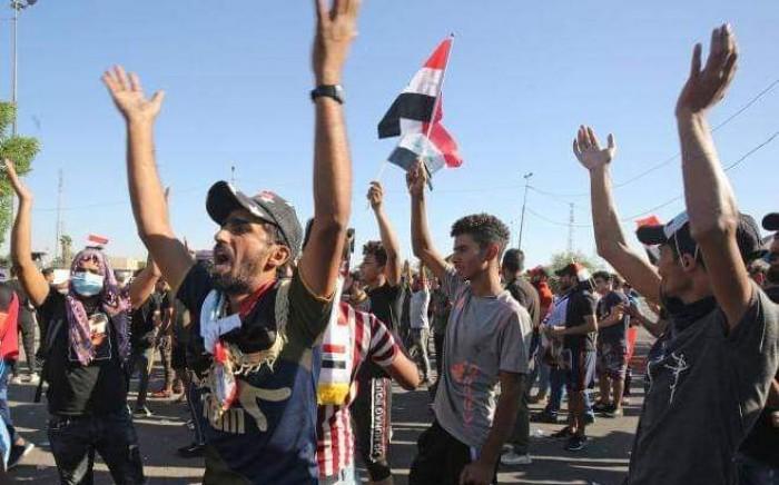 مظاهرات العراق تعري الغطاء الإيراني على جرائم المليشيات الحوثية