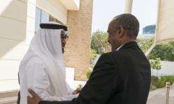 الشيخ محمد بن زايد يستقبل رئيسي المجلس السيادي والحكومة الانتقالية بالسودان (صور)
