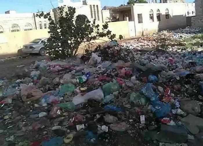 شكوى جماعية من تكدس القمامة بردفان