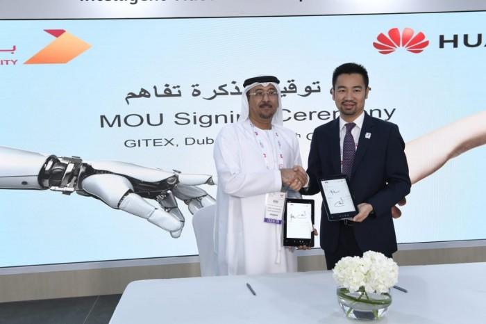 """""""بلدية دبي"""" توقع اتفاقية مع هواوي لتزويدها بأحدث تقنيات الاتصالات"""