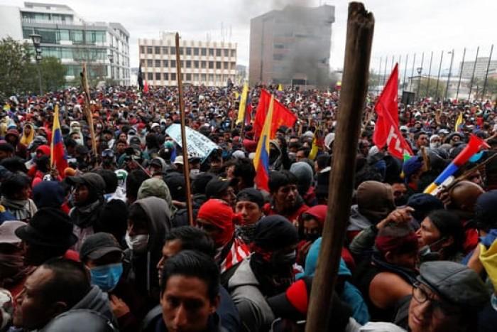 الأكوادور: اعتقال 275 شخصًا في احتجاجات خفض دعم المحروقات