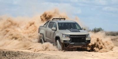 """بمواصفات قياسية..شيفروليه تكشف رسميا عن نسخة جديدة من شاحنة """"كولورادو"""""""