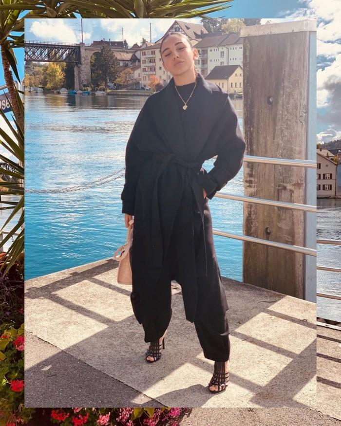 سلمى أبو ضيف تنشر صور رحلتها في سويسرا