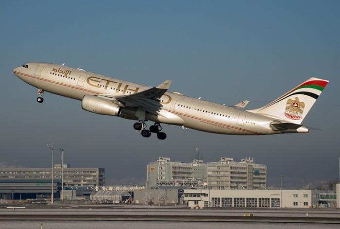 الاتحاد للطيران الإماراتية تزيد رحلاتها بين أبوظبي وبيروت