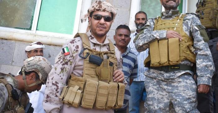 قائد التحالف العربي يشيد بانتصارات الضالع (صورة)