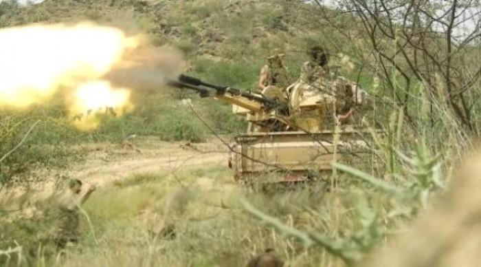 القوات الجنوبية تشن عملية عسكرية جديدة غرب مدينة الفاخر
