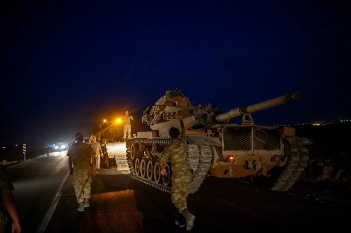 تنديد أوروبي واسع بالتوغل التركي شمال سوريا