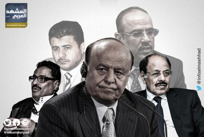 """""""فضيحة مكتب الرئيس"""".. عبث هادي وشرعيته ينخر في اللجنة الاقتصادية"""