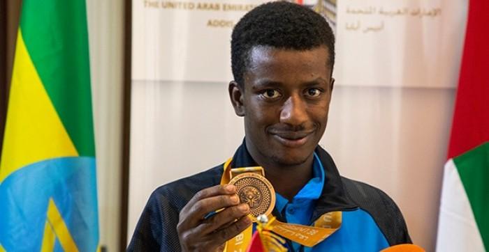 """""""الإمارات"""" تكرم إثيوبيين شاركوا في أولمبياد أبوظبي"""