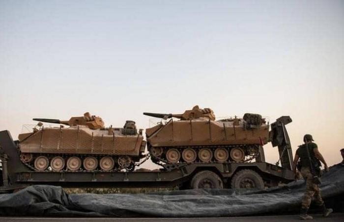 قسد: نتصدى لمحاولات القوات التركية التوغل في شمال سوريا