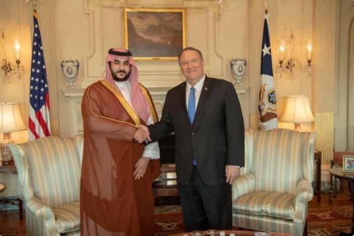 وزير الدفاع السعودي يكشف عن لقاءات جمعته بوزيري الخارجية والدفاع الأمريكيين