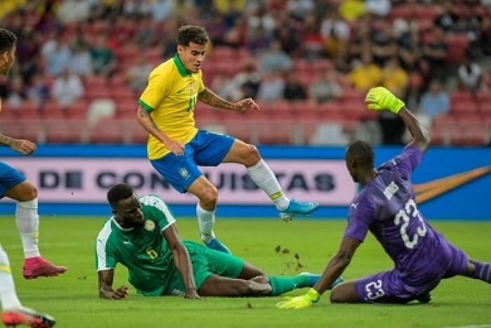 التعادل الايجابي عنوان مباراة السنغال والبرازيل