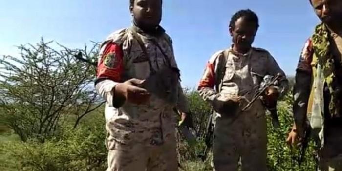 الشرطة العسكرية بالضالع تُبطل ألغاماً حوثية في قعطبة وحجر