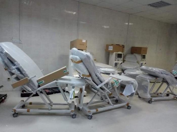 انطلاق العمل بقسم غسيل الكلى في مستشفى الشحر العام قريباً