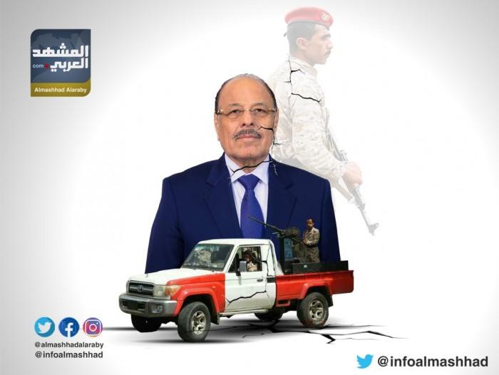 """جنرال الإرهاب.. مليشيا الأحمر تصبغ حكومة الشرعية بـ""""لون القتل والدم"""""""