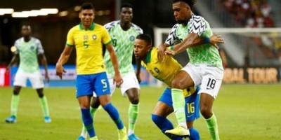 التعادل يحسم مباراة نيجيريا والبرازيل
