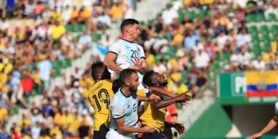 الأرجنتين تكتسح الإكوادور بسداسية في مباراة ودية