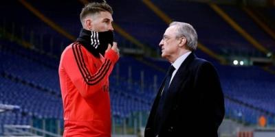 رئيس ريال مدريد: أسطورة راموس ستستمر طويلا في الملاعب