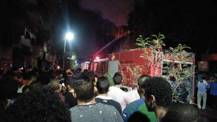 حريق هائل بإحدى الكنائس في مصر.. والحماية المدنية تتدخل