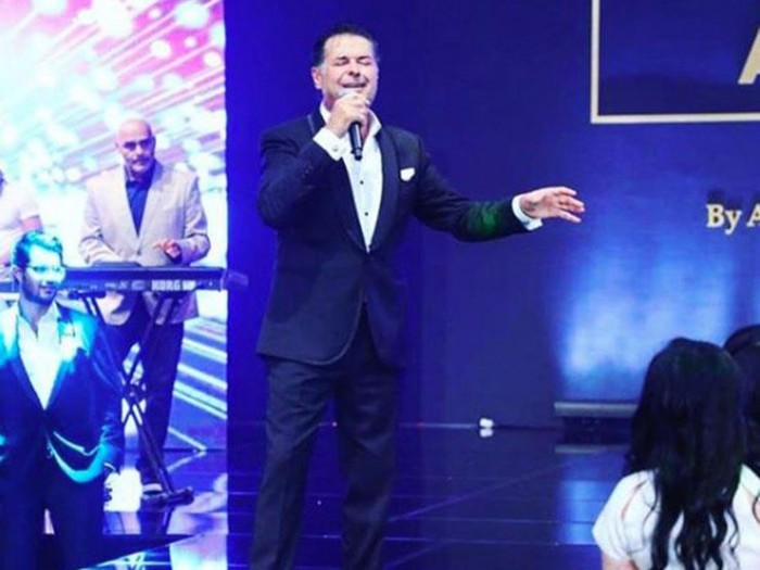 راغب علامة يحيي حفلًا بالقاهرة بحضور نجوم الفن (صور وفيديو