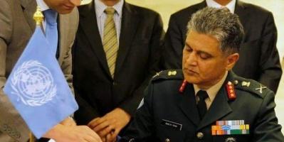 مليشيا الحوثي تستقبل رئيس لجنة إعادة الانتشار بالتصعيد في الحديدة