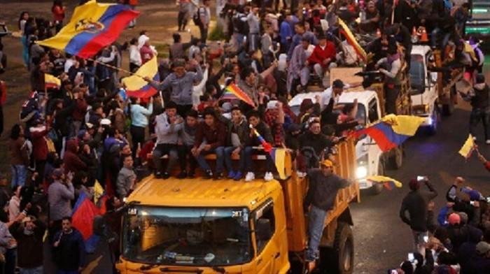 يستجيب للمتظاهرين.. الرئيس الإكوادوري يلغي قرار رفع الدعم عن الوقود